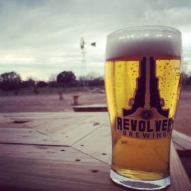 """We're out in the countryside, out in Granbury, and we try to embrace that country outside of the city attitude without being too aggressive,"" said Grant Wood with Revolver Brewing."