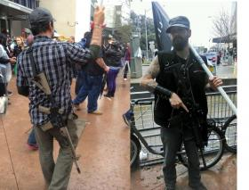 Gun rights activists have been carrying firearms in public protests across Texas.
