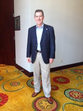 Former Senator Jim DeMint at the RedState gathering in Fort Worth, TX.