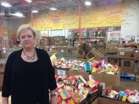 President and CEO Jan Pruitt of the North Texas Food Bank.