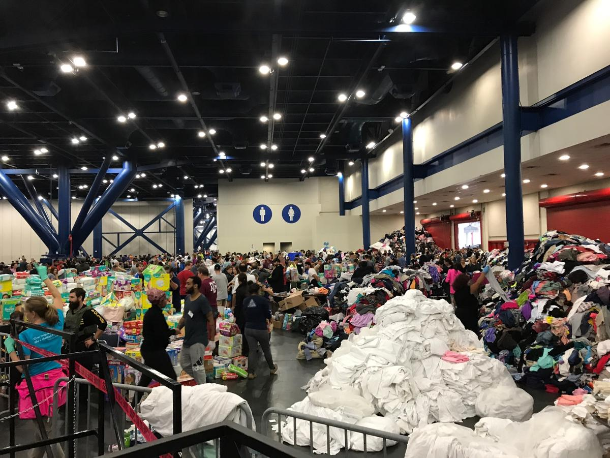By Tuesday's end, with the convention center past its capacity and need continuing to grow, Houston Mayor Sylvester Turner announced a second massive ...