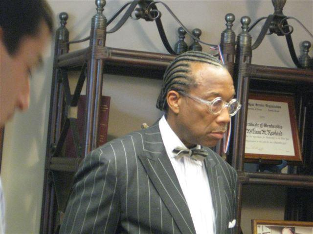 Dallas County Commissioner John Wiley Price at Attorney's office