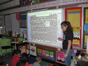 Starla Richter's 3rd grade class, McKenzie Elementary