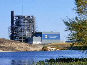 Thomas C. Ferguson Power Plant in Llano County, Texas.