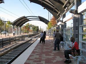 MLK DART rail stop