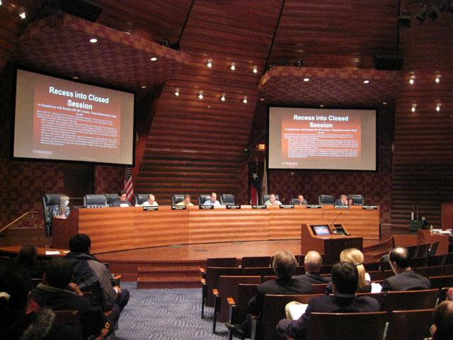 Frisco Planning and Zoning meeting