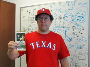 Dr. Andrew Brandt, UTA physicist