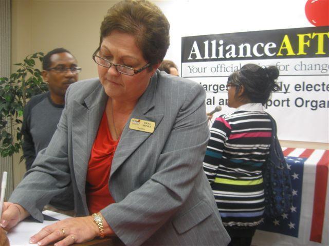 Rena Honea, President Dallas Alliance-AFT