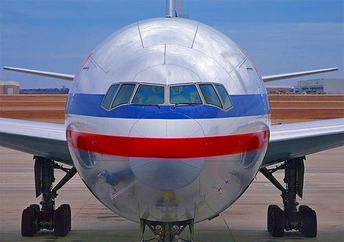 American Airlines passenger jet