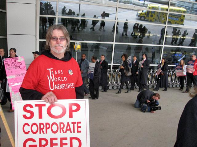 Dave Frost TWU member, American Airlines employee