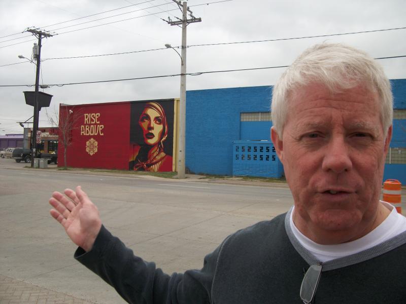 Bridge-O-Rama Spokesman Jeff Herrington says West Dallas  tours this weekend will include original artwork.