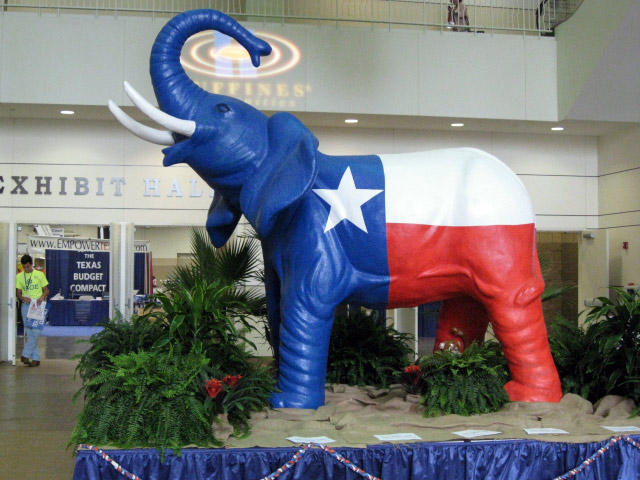 More than 5,000 delegates are attending the Texas Republican Party Convention in Fort Worth.