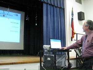 DISD staff presenting 2012-2013 budget
