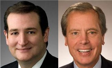 GOP Senate Candidates Ted Cruz and David Dewhurst