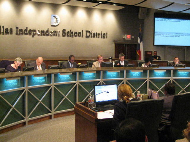 DISD Board of Trustees approve 2012-2013 budget