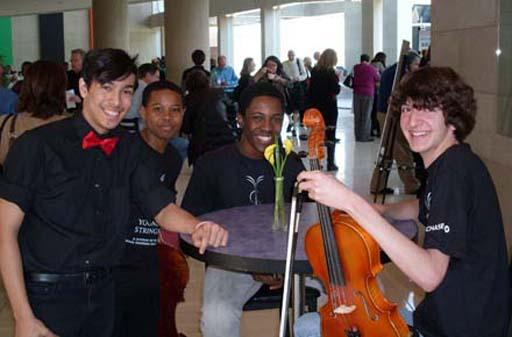 The DSO's Young Strings program celebrates its 20th anniversary this year.