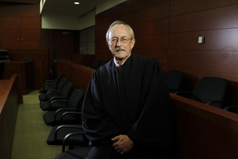 Judge Ken Molberg presides over the 95th District Court in Dallas County.