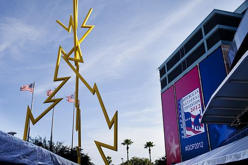After a short stall due to then-Tropical Storm Isaac, the Republican National Convention  went on as planned in Tampa.