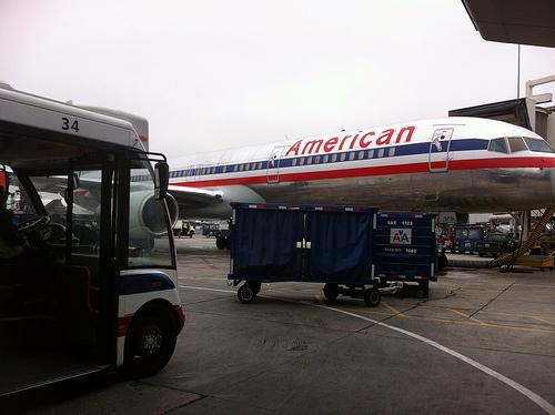 Many American Airlines employees received warnings today ahead of layoffs.