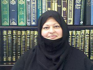 Ismat Mahmood belongs to a Muslim community that opposes terrorism.