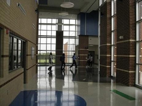 Ann Richards Middle School in East Dallas is a brand new campus with a 29-year-old principal.