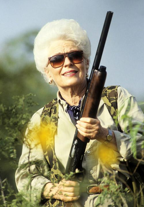 Ann Richards dove hunting during election season.