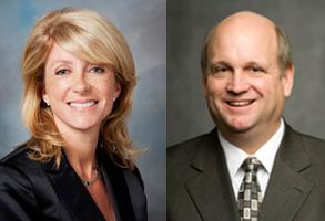 Sen. Wendy Davis, Mark Shelton