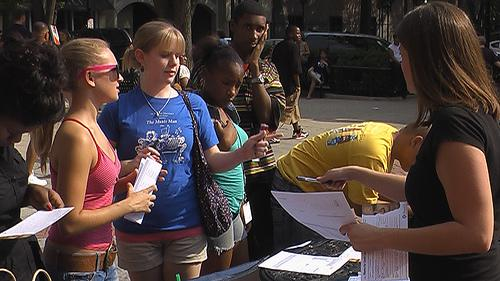 2007 youth registration drive in South Carolina.