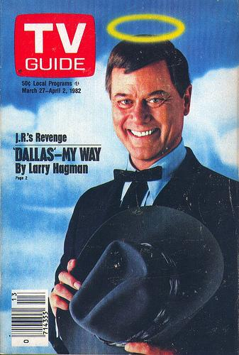 A TV Guide cover from 1982, in the golden age of 'Dallas.'