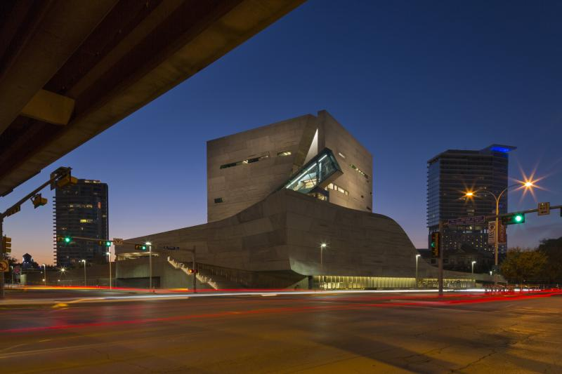 The striking exterior of the Perot Museum of Science and Nature sheaths a wealth of hands-on exhibits