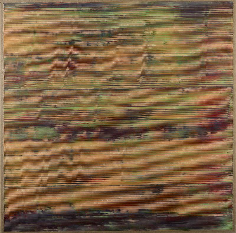 """Jack Whitten, """"Epsilon,"""" 1976"""
