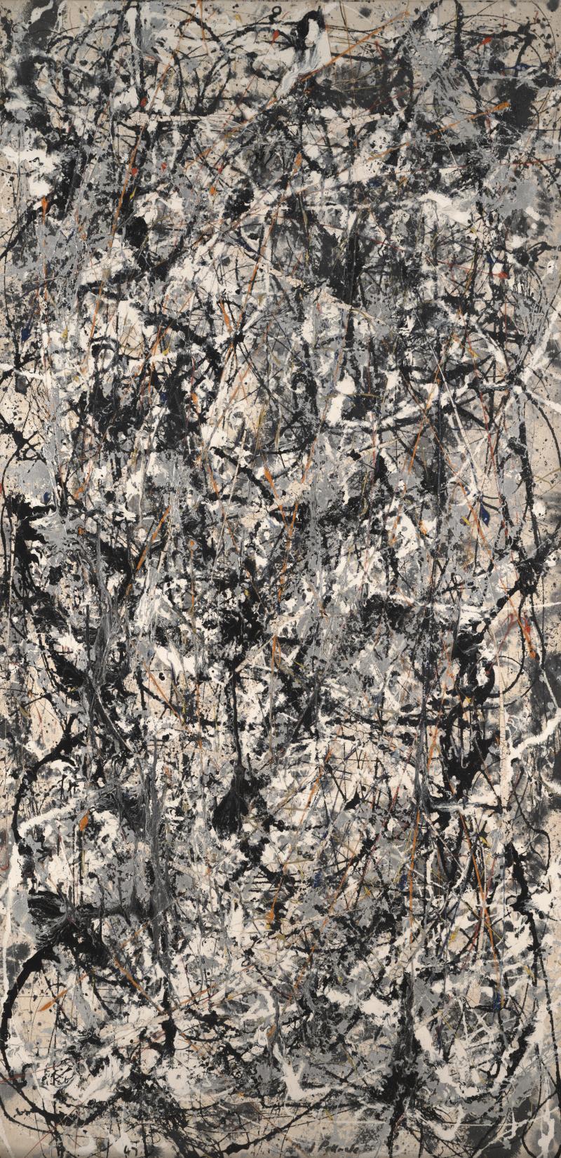 "Jackson Pollock, ""Cathedral,"" 1947"