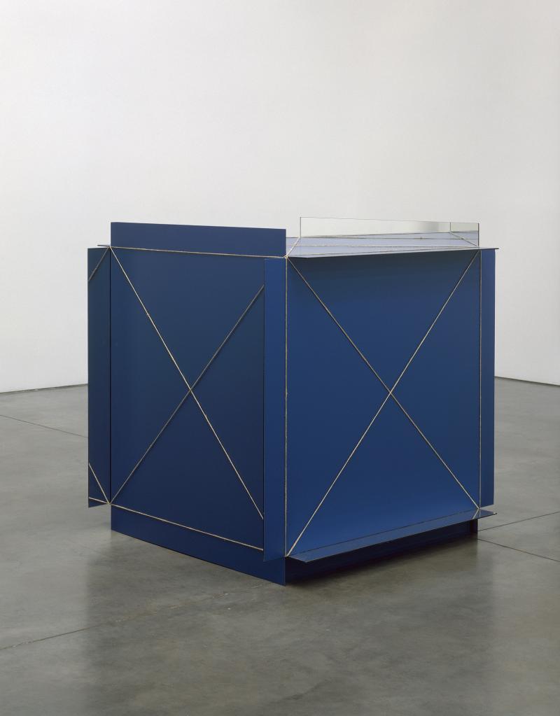 """Michaelangelo Pistoletto, """"Infinity Cube,"""" 1966"""