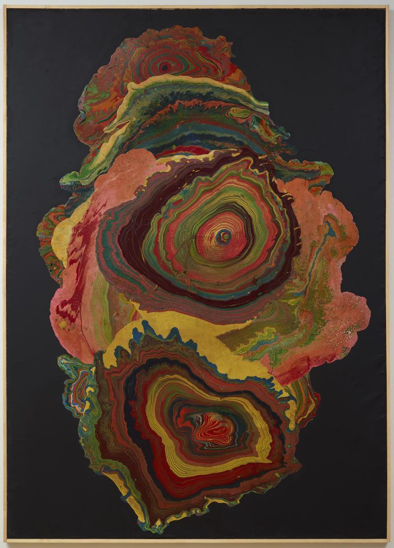 "Shozo Shimamato, ""Untitled–Whirlpool,"" 1965"