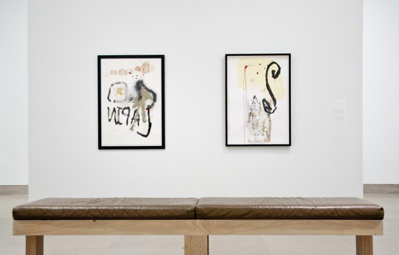"Stephen Lapthisophon, ""Rabbit"" and ""MB,"" 2010"