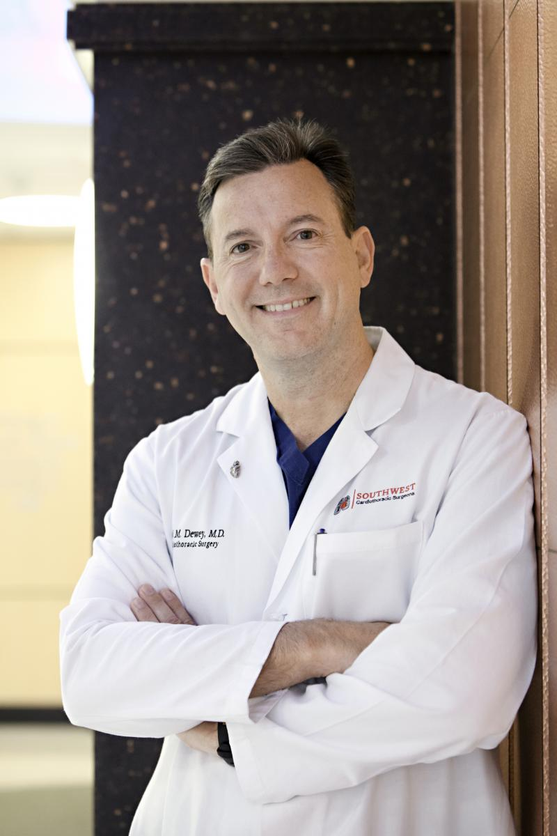 Dr. Todd Dewey co-performed the new FDA-approved procedure.