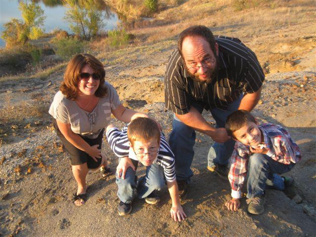 "Kris Howe and his family dig for fossils near Lake Grapevine where he discovered the oldest bird fossil in North America named after him, ""Flexomornis howei"". Fossil hunting is a passion for Kris and his family."