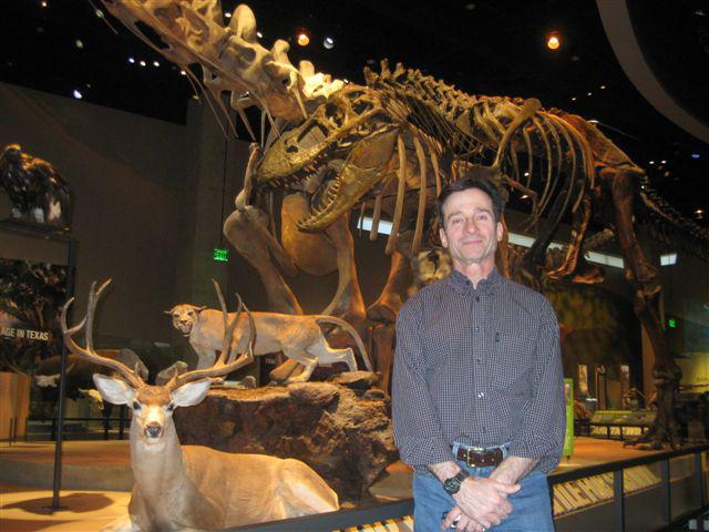 Paleontologist Tony Fiorillo is curator for fossils at the Perot Museum.