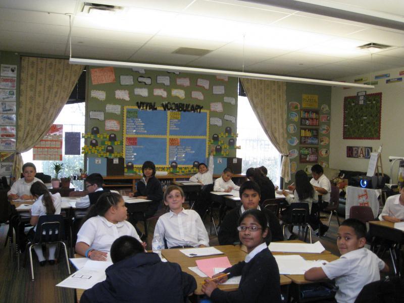 Elementary class, Dallas