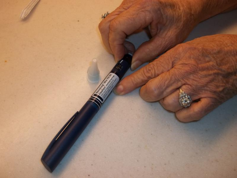 Like many diabetics, Moreland is now dependent on twice daily insulin injections.