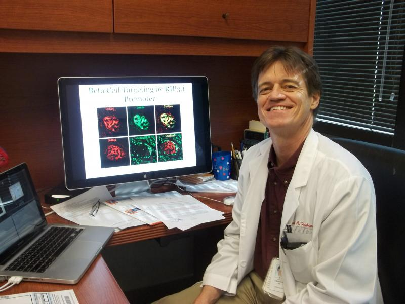 Dr. Paul Grayburn is head of cardiology research at Baylor. He has been studying gene therapy for 12 years.