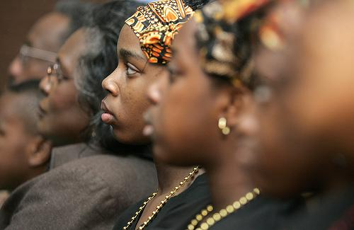 The black church's changing influence includes a distinct perspective on feminism.