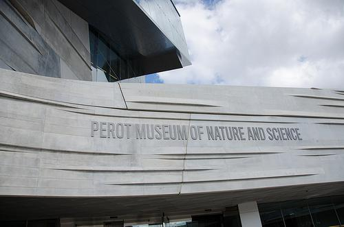 The Sports Hall is one of 11 Halls inside the Perot Museum of Nature and Science