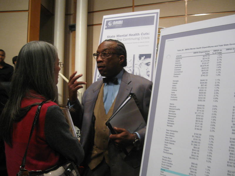 John Wiley Price rallies mental health advocates to lobby state legislature for more funding.
