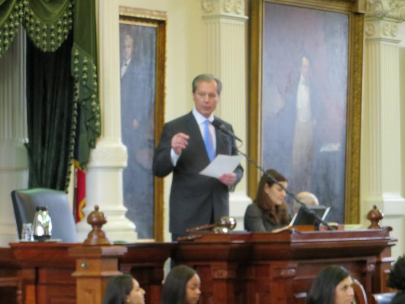 Lieutenant Governor Dewhurst presides over the state Senate and wields considerable influence over state policy.