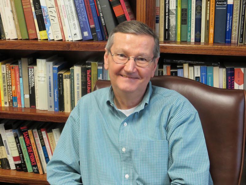 SMU political science professor Cal Jillson