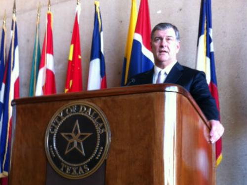 Dallas Mayor Mike Rawlings says gun control is a federal or state function, and he wants to focus on what a city can do to help reduce violence on our streets, in our schools and homes.