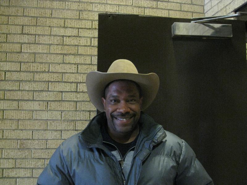 Wendell Hearn, competitor, Cowboys of Color Rodeo
