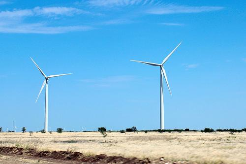 These wind turbines in Sweetwater, Texas pack some serious potential.
