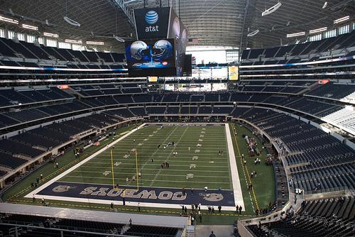 The Cowboys will play the Philadelphia Eagles at the AT&T Stadium in Arlington on Sunday.